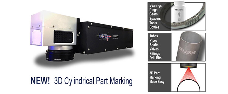 Telesis 3d Cylindrical Laser Marking