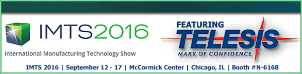 IMTS 2016   September 12 - 17   McCormick Center   Chicago, IL   Booth Booth #N-6168
