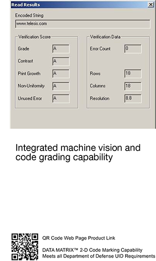 Integrated In-Line Vision Laser Marking Systems