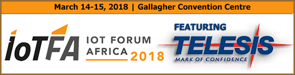 IoT Forum Africa | March 14- 15, 2018 | Johannesburg, South Africa