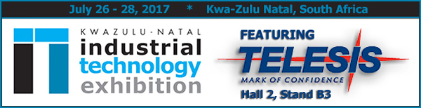 KZN Industrial & Technology 2017 | Hall 2, Stand B3 | July 26 - 28, 2017 | Kwa-Zulu Natal, South Africa
