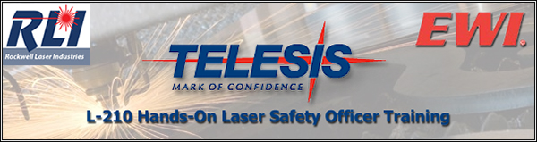 L-210 Hands-On Laser Safety Officer Training