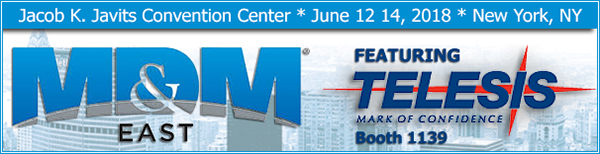 MD&M East | Booth 1139 | June 12 – 14 | New York, NY
