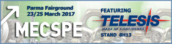 MECSPE 2017 | Stand 8H13 | March 23 - 25, 2017 | Parma, Italy