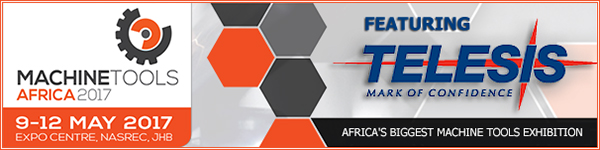 Machine Tools Africa 2017 | Stand TBD | May 9 - 12, 2017 | Johannesburg, South Africa