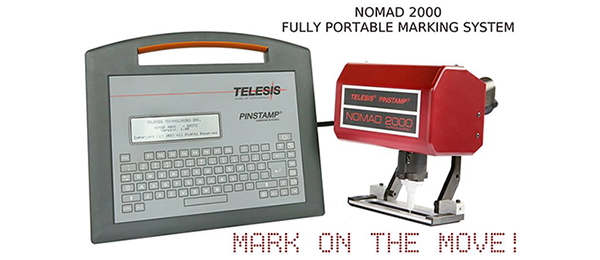 NOMAD 2000 Portable Hand-Held Marking System