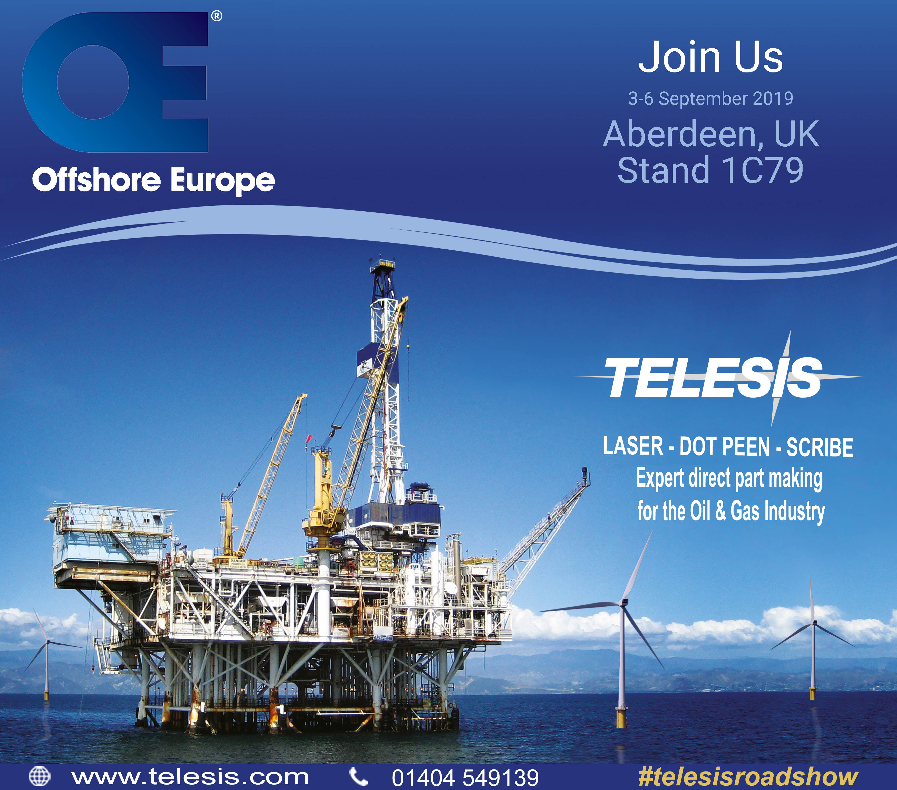 Offshore Europe | 03/09/2019 - 06/09/2019 | Stand 1C79 | Aberdeen, United Kingdom