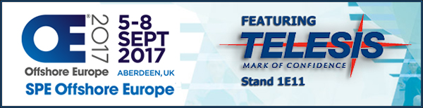 SPE Offshore Europe 2017 | Stand 1E11 | 5 September 2017 - 8 September 2017 | Location Aberdeen, UK