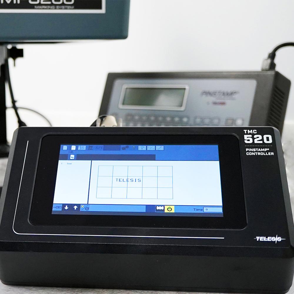 Контроллер Dot Peen с сенсорным экраном