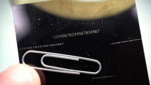 micro marking laser