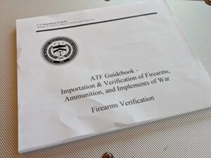 ATF regulations on firearms